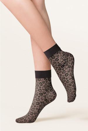 Dámské ponožky Gabriella Caty 684 béžová univerzální