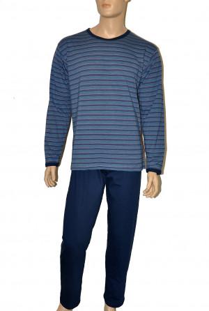 Pánské pyžamo Cornette 138/07 Various M-2XL jeans