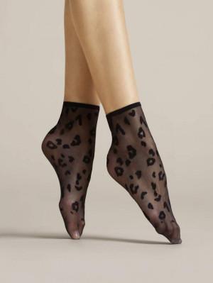 Dámské ponožky Fiore Doria G 1076 černá univerzální