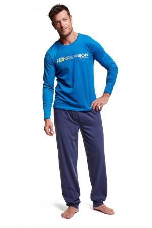 Pánské pyžamo 37300 Worth blue světle modrá