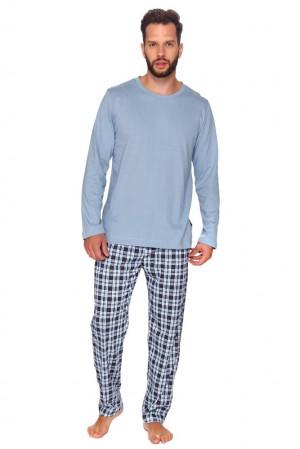 Pánské pyžamo Mark světle modré modrá