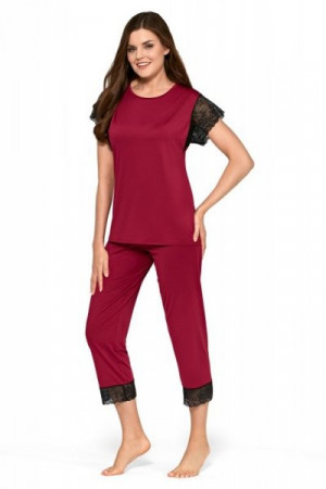 Babella Filipa Pánské pyžamo S červená