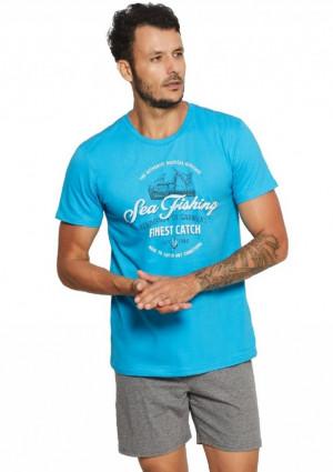Pánské pyžamo Henderson 37842 M Světle modrá