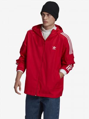 Adicolor Classics 3-Stripes Bunda adidas Originals Červená