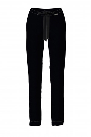 Vamp - Dámské sportovně elegantní kalhoty 13922 - Vamp black s
