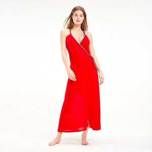 Tommy Hilfiger Šaty Cover Up Red