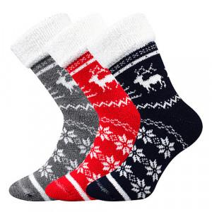 3PACK ponožky Boma vícebarevné (Norway) 35-38
