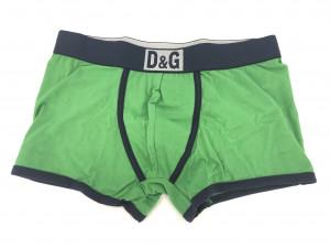 Pánské boxerky M30819 zelená s páskem - Dolce & Gabbana zelená
