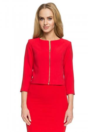 Dámské sako SO38  - Style červená