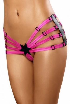 Lolitta Star Panty Tanga L/XL růžová
