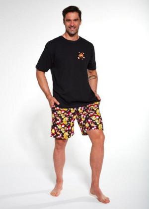 Pánské pyžamo KR 328/103 FUNNY černá