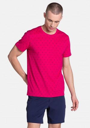Pánské pyžamo Henderson 38872 L Purpurová