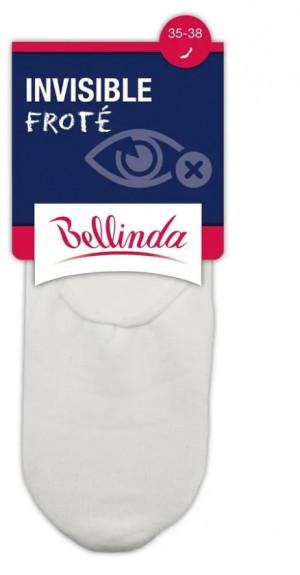 Nízké ponožky INVISIBLE FROTÉ - Bellinda černá 35-38