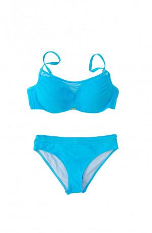 Dvoudílné plavky S1002M modrá - Self modrá