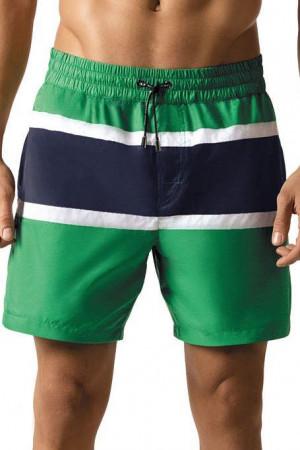 Pánské šortkové plavky Tom zelené modrá