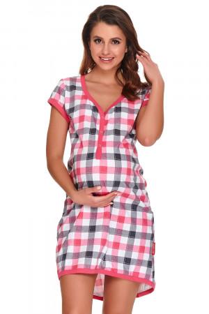 Dámská noční košile Dn-nightwear TM.9940 hot pink s