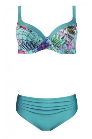 Dvoudílné plavky S940A20 vícebarevná - Self vícebarevná