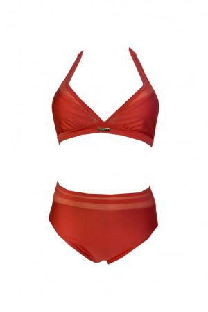 Dvoudílné plavky S1061 lososová - Self lososová