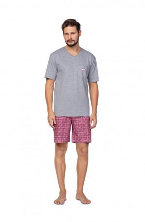 Pánské pyžamo Regina 581 kr/r 2XL tmavě modrá