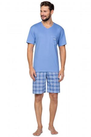 Pánské pyžamo Regina 581 kr/r M-XL tmavě modrá