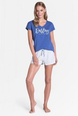 Henderson Ladies 38900 Tulip Dámské pyžamo M blue