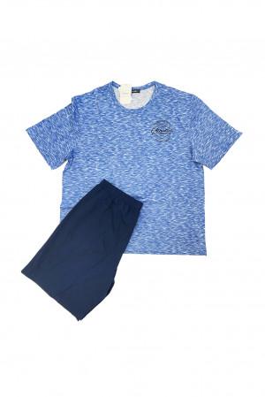 Pánské pyžamo 11952 - Vamp modrá 3XL