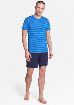 Pánské pyžamo Henderson 38873 L Modrá
