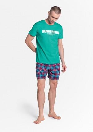 Pánské pyžamo Henderson 38874 L Peprmint