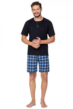Pánské pyžamo 578 BIG černá 2XL