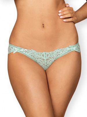 Erotické kalhotky Delicanta panties - OBSESSIVE mátová S/M