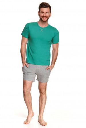 Pánské pyžamo Taro Albert 2536 kr/r S-XL L'21 zelená