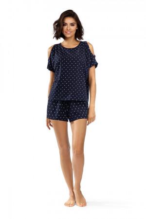 Dámské pyžamo P-1536 GRANATOWA