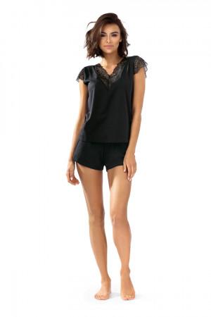 Dámské pyžamo P-1503 černá