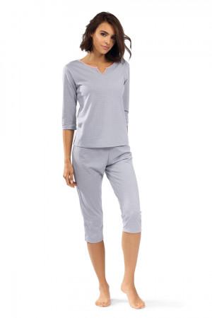 Dámské pyžamo P-1510 šedá