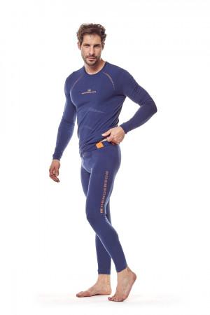 Pánské termo triko SKIN 22969 - HENDERSON tmavě modrá