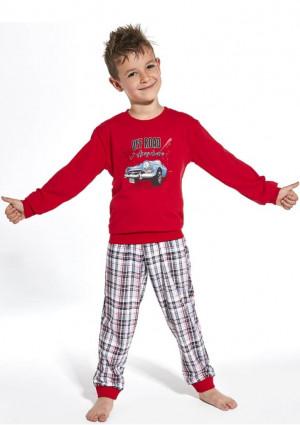 Dětské pyžamo Cornette 593/104  110/116 Červená