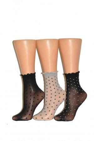 Dámské ponožky Veneziana Myriam marine univerzální