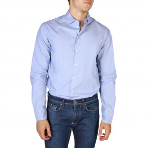 Pánská košile Emporio Armani W1SMDLW13F5 blue