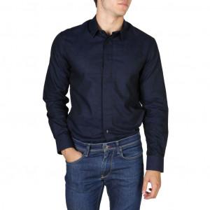Pánská košile Emporio Armani V1CCCTV149C blue