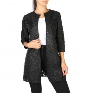 Dámský kabátek Emporio Armani V2L65TV9909 black