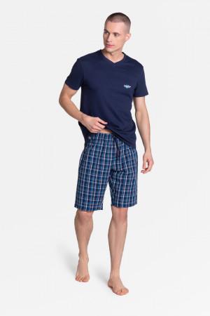 Pánské pyžamo DREAM 38884 tmavě modrá