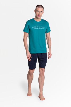Pánské pyžamo DEAL 38880 modrá/tm.modrá