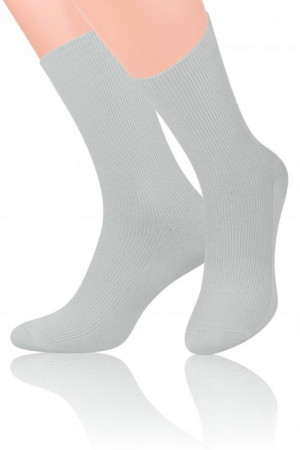 Pánské ponožky 018 light grey - Steven šedá 39/42