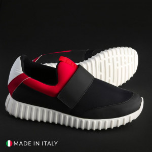 Pánské tenisky Made in Italia LEANDRO. black EU