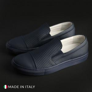Pánské mokasíny Made in Italia LAMBERTO blue EU