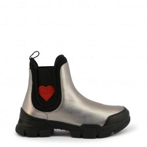 Dámské kotníčkové boty Love Moschino JA15614G0BJC grey EU
