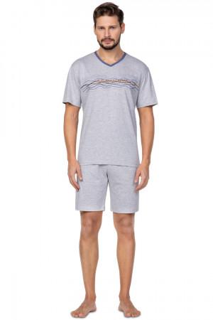 Pánské pyžamo 586 BIG žíhaná