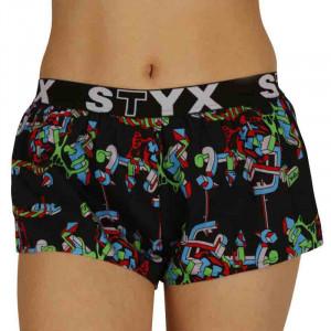 Dámské trenky Styx art sportovní guma strukture (T958)