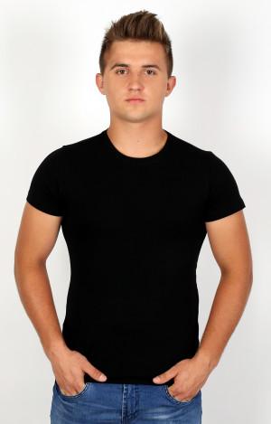 Pánské tričko Szata kr/r 3XL Černé černá 3XL