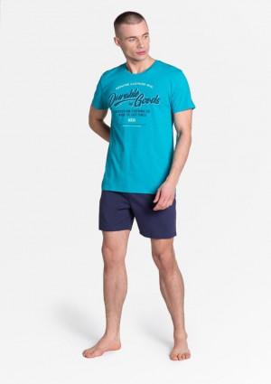 Pánské pyžamo Henderson 38868 L Světle modrá